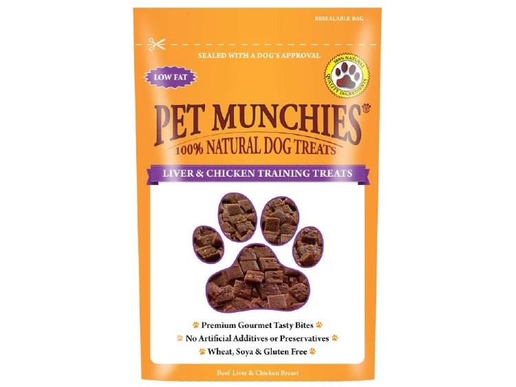 PET MUNCHIES LIVER&CHICKEN TRAINING TREATS 50G