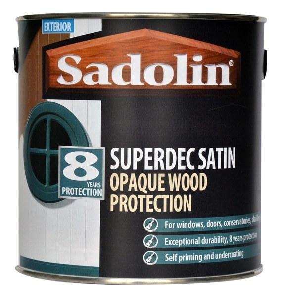 SADOLINS SUPERDEC SATIN BASE