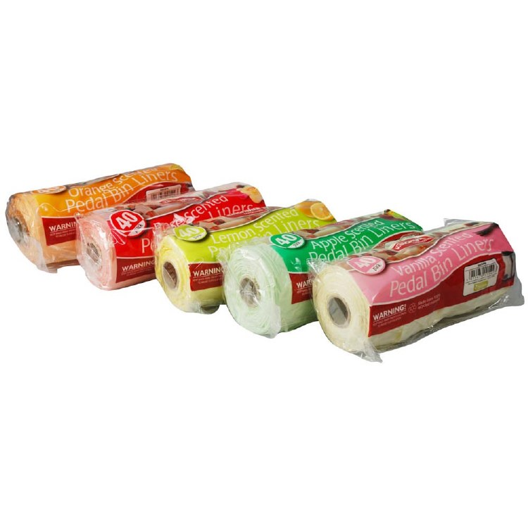 SCENTED BIN LINERS 40 PC 25L