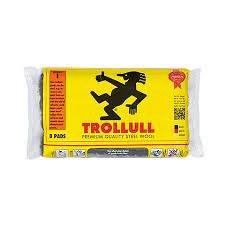 TROLLULL STEEL WOOL MED 150GS