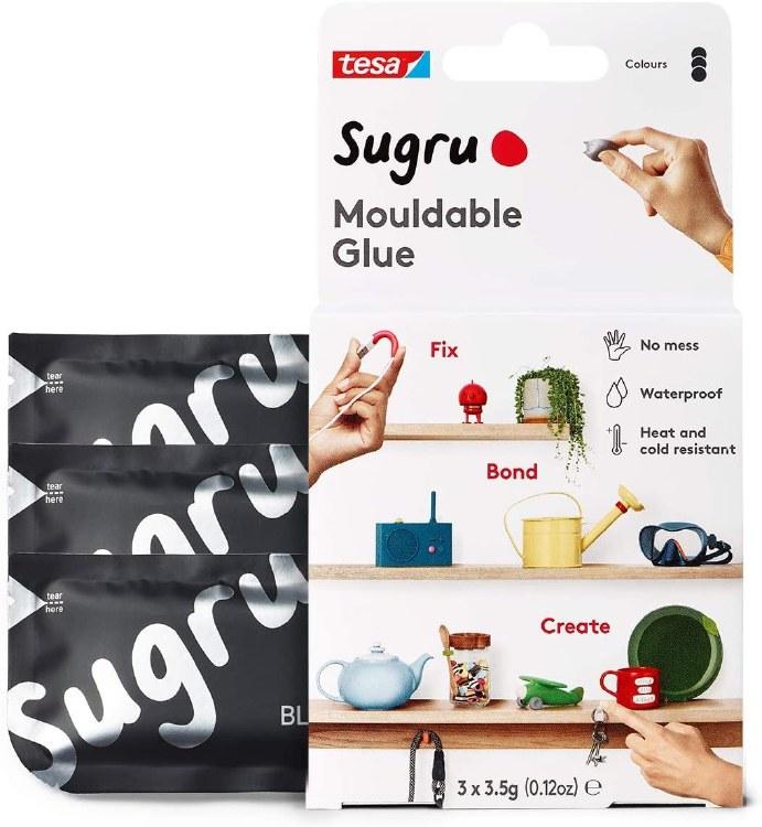 SUGRU MOULDABLE GLUE - 3 PACK BLACK