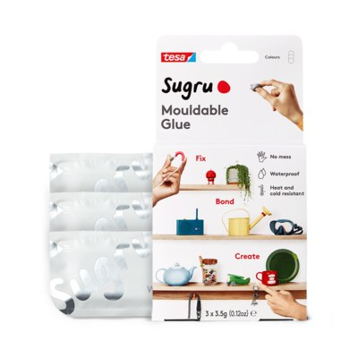 SUGRU MOULDABLE GLUE - 3PACK WHITE