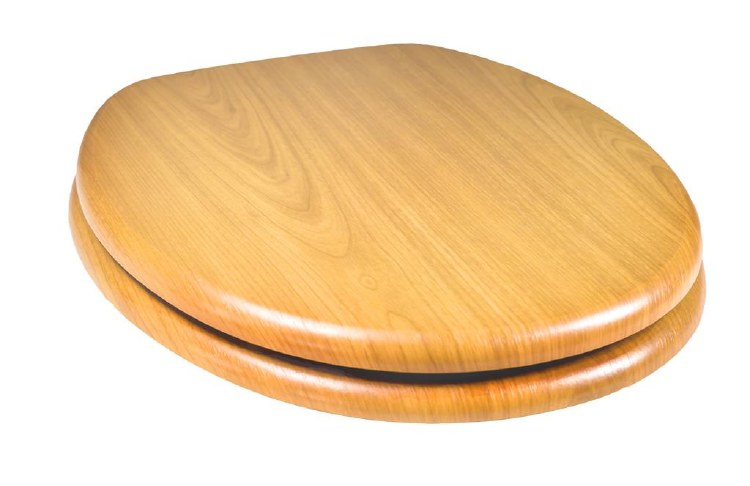 TEMA WOODLAND INSPIRED TOILET SEAT ANTIQUE