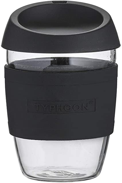 TYPHOON REUSEABLE COFFEE BLACK 400ML
