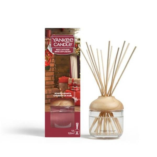 YANKEE CANDLE HOLIDAY HEARTH REED DIFFUSER