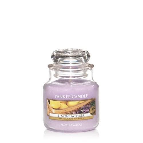 YANKEE CANDLE LEMON LAVENDER SMALL JAR