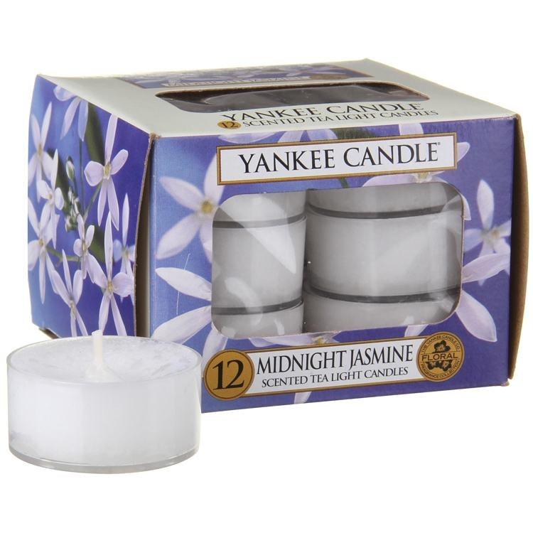 YANKEE CANDLE MIDNIGHT JASMINE TEALIGHT