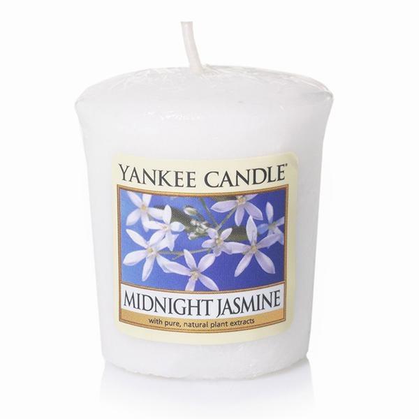 YANKEE CANDLE MIDNIGHT SUMMER JASMINE VOTIVE
