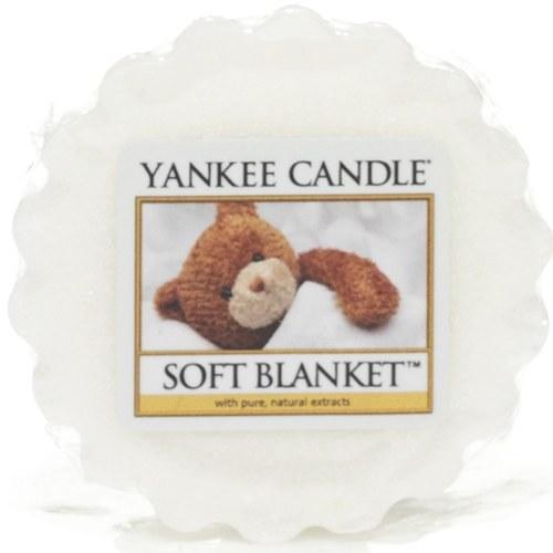 YANKEE CANDLE SOFT BLANKET WAX MELT