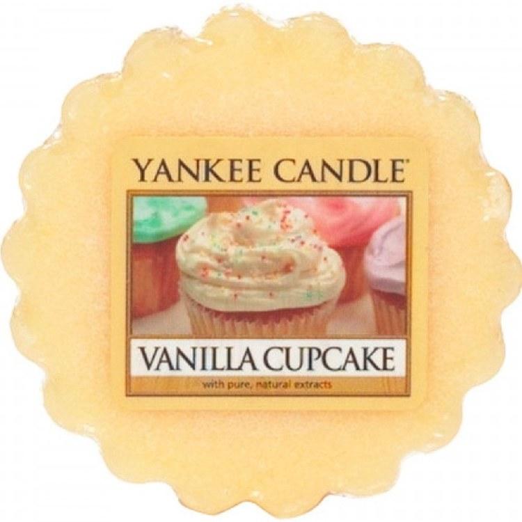 YANKEE CANDLE VANILLA CUPCAKE WAX MELT