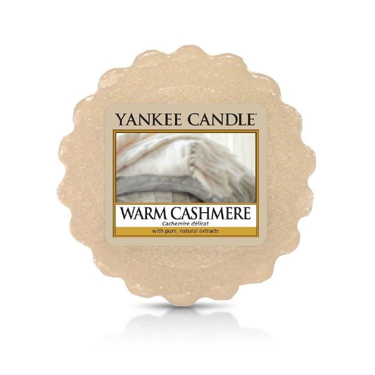 YANKEE CANDLE WARM CASHMERE WAX MELT