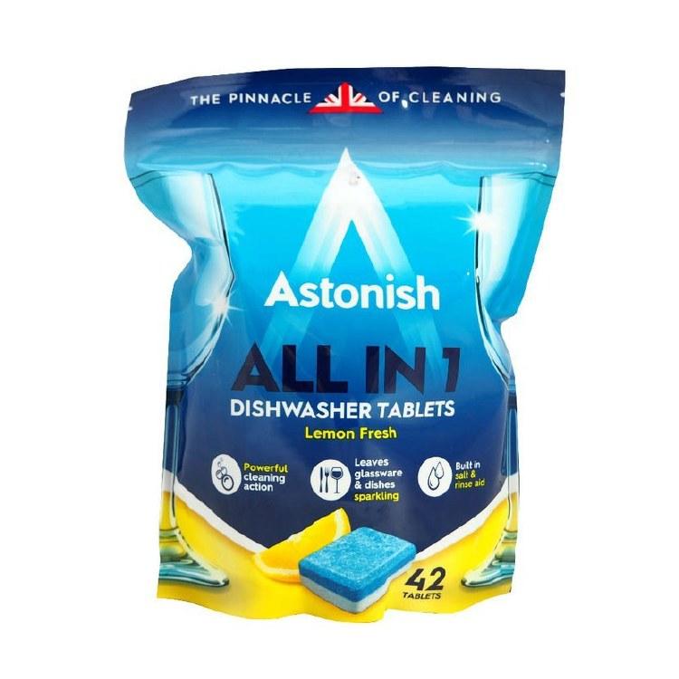 ASTONISH DISHWASHER TABS 42