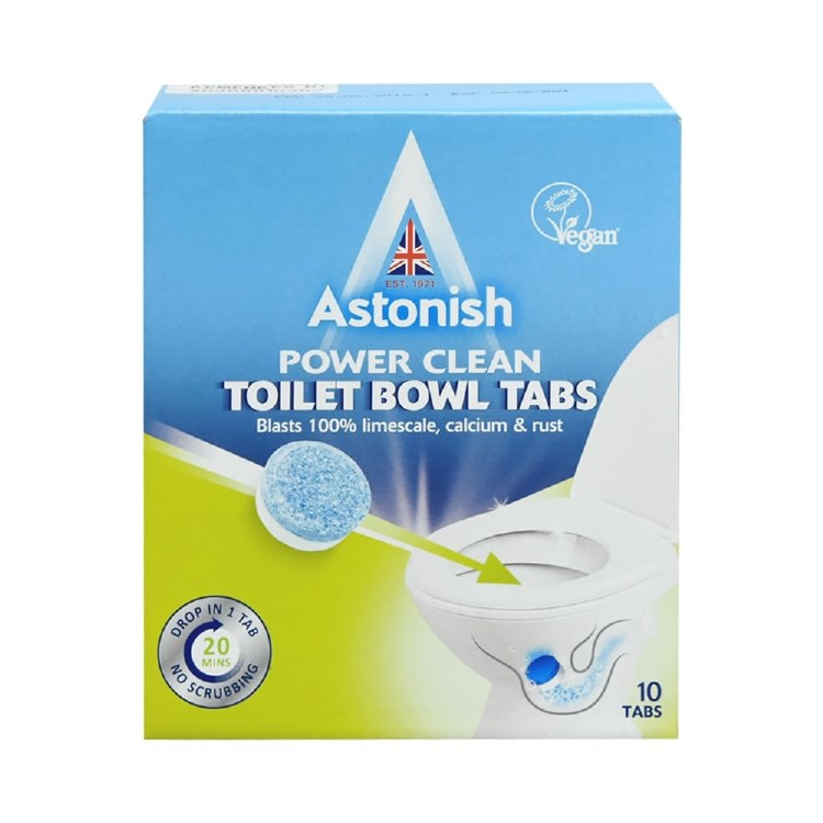 ASTONISH TOILET BOWL CLEANER TABS
