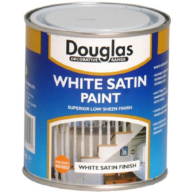 DOUGLAS WHITE SATIN PAINT 250M