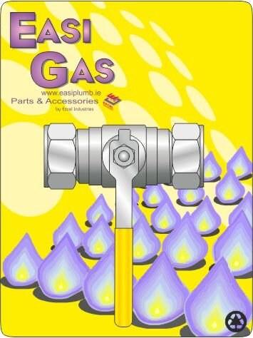 EASIPLUMB 3/4 COMP GAS BALL VA