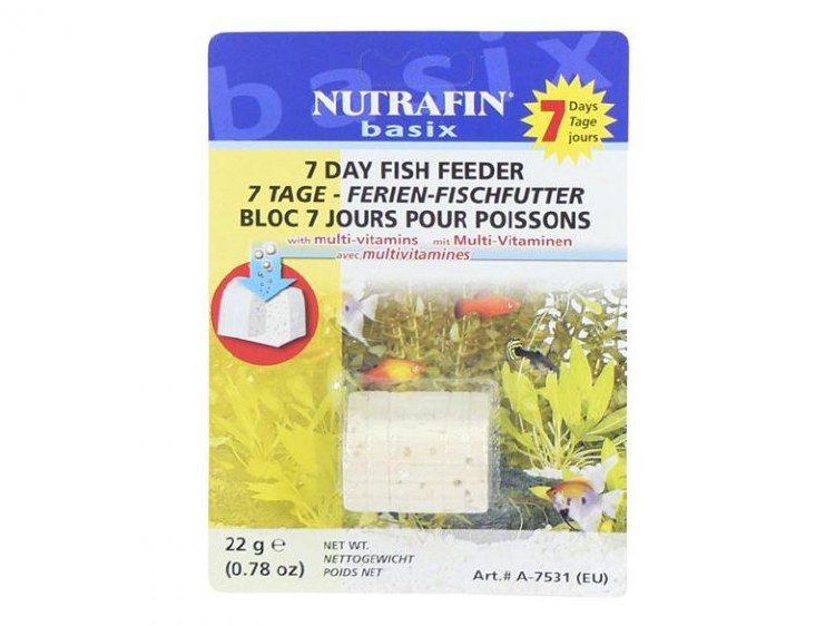 NUTRAFIN 7 DAY VACATION FISH FEEDER