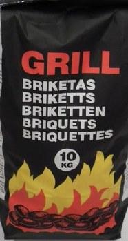 10KG GRILL CHARCOAL BRIQUETTES