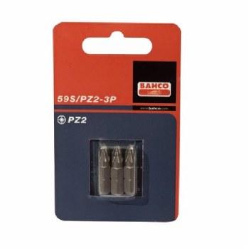 BAHCO BA59S/PZ2-3P NO2 POZI BITS 25MM