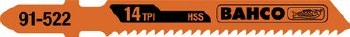 """BOSCH JIGSAW BLADE 3""""HSS 91-512-5P"""