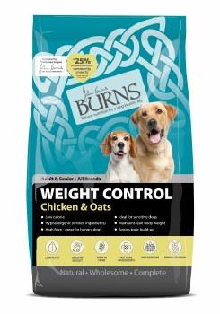 BURNS WEIGHT CONTROL CHICKEN & OAT 12KG