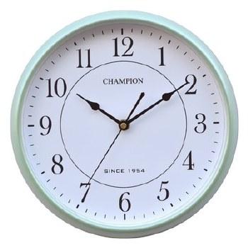 CHAMPION WALL CLOCK GREEN
