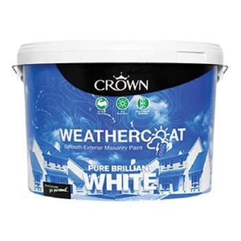 CROWN  WEATHERCOAT BRILLANT WHITE 10Lt