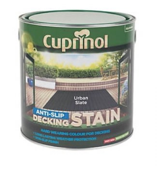 CUPRINOL ANTISLIP DECKING STAIN URBAN SLATE 2.5L