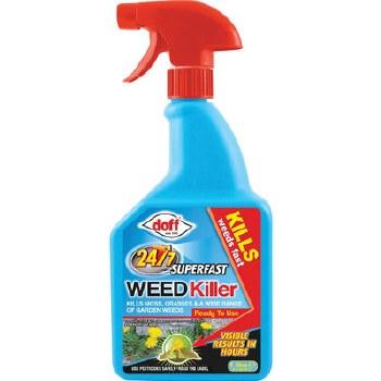 DOFF 24/7 FAST ACTING WEED KILLER 1 LTR