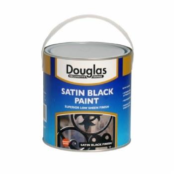 DOUGLAS SATIN BLACK 2.5L