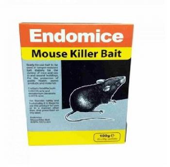ENDOMICE MOUSE KILLER BAIT 100 GRM (5 X 20 GRM)