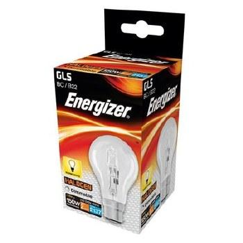 ENERGIZER ECO HALOGEN 116W (150W) B22 CLEAR GLS LAMP