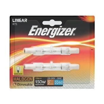 ENERGIZER ECO HALOGEN 120W (150W) LINEAR LAMP CARD 2