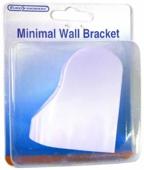 EUROSHOWERS MINIMAL WALL BRACKET WHITE