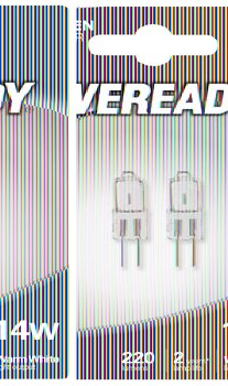 EVEREADY CLEAR ECO HALOGEN G4 14(24)W