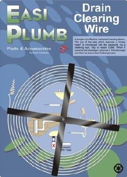 Easi Plumb 15Ft Drain Wire