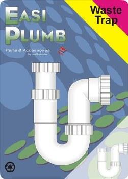"Easi Plumb 1 1/2"" Adjustable Height ""P"" Trap"