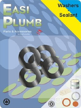 Easi Plumb 5 Pce Spare Shower Hoses Washers