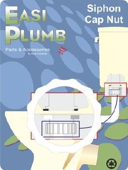 "Easi Plumb 1 1/2"" Spare Siphon Capnut"
