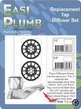 """Easi Plumb 1/2"""" Tap Diffuser Set"""