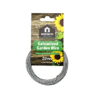 GSW103 SHEDMATE 20MT X 1.2MM GALVINISED GARDEN WIRE