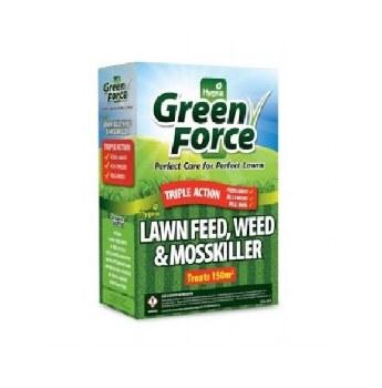 GREENFORCE LAWN FEED WEED + KILLER 3KG