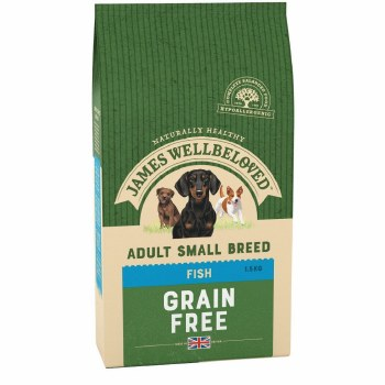 JAMES WELLBELOVED FISH SMALL BREED ADULT 1.5KG