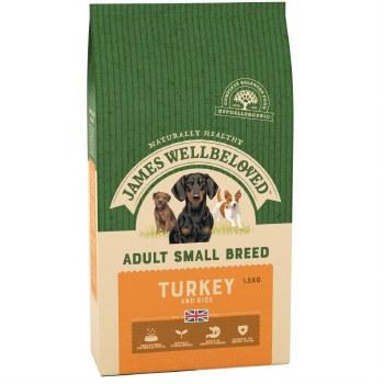 JAMES WELLBELOVED TURKEY SMALL BREED ADULT 1.5KG