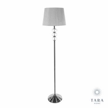 JANE FLOOR LAMP SILVER / GREY 158 CM