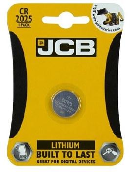 JCB BATTERY LITHIUM CR2025 3V