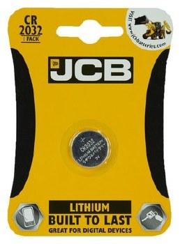 JCB BATTERY LITHIUM CR2032 3V