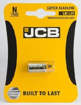 JCB BATTERY SUPER ALKALINE LR1/N 1.5V