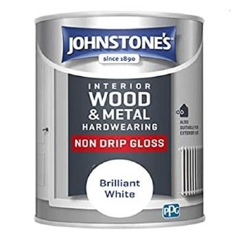 JOHNSTONES INTERIOR WOOD & METAL QUICK DRY NON DRIP GLOSS 1.25L
