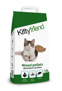 KITTYFRIEND WOOD CAT LITTER 10L