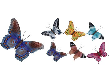 LARGE BUTTERFLY METAL